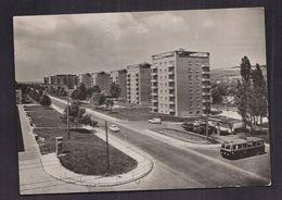 CPSM TCHEQUIE - REPUBLIQUE TCHEQUE - GOTTWALDOV - Avenue Staline - Maisons élevées - Jolie Oblitération Timbre 196? - Tchéquie
