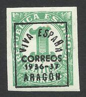 Spain, Aragon 1 C. 1937, Mi # 1, MH - Nationalist Issues