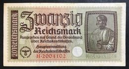 GERMANIA ALEMANIA GERMANY  20 REICHSMARK 1940-45   LOTTO 1995 - [ 4] 1933-1945 : Terzo  Reich