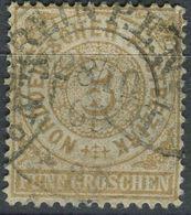 NDP 5 Gr Freimarke, Michel 18, Gestempelt (1-623) - Conf. De L' All. Du Nord