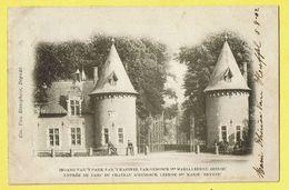 * Sint Maria Leerne (Deinze - Deynze) * (Em. Van Risseghem) Ingang Park Kasteel Van Oydonck, Chateau, Castle, TOP - Deinze