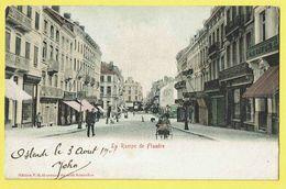 * Oostende - Ostende (Kust - Littoral) * (Edition V.G.) La Rampe De Flandre, Animée, Bodega, Shop Boutique, TOP - Oostende