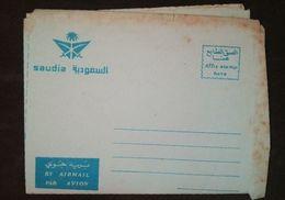 (Free Shipping*)  Saudi Arabian Airlines UNUSED Aerogram - Saudi Arabia