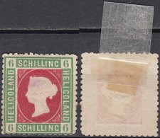 Germany 1867 - 6 S, HELIGOLAND (Helgoland) MiNr. 4 MH. - Heligoland