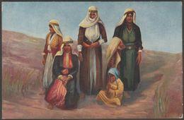 A Group Of Druse Women, Drusen-Gruppe, C.1910 - Trenkler AK Postcard - Asia