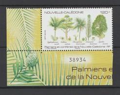 """Nouvelle Calédonie 2016 :Palmiers Et Conifères De La Nouvelle Calédonie"""" - Neuf ** - Superbe Bord De Feuille - - New Caledonia"""
