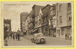 * Blankenberge - Blankenberghe (Kust - Littoral) * (Gegy, Nr 1) Rue Léopold Straat, Animée, Coiffeur, Hotel De Venise - Blankenberge