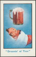 Comic - Dreamin' Of Thee, Beer, C.1930s - Postcard - Humour
