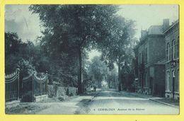* Gembloux (Namur - Namen - La Wallonie) * (SBP, Nr 4) Avenue De La Station, Straatzicht, Rare, TOP, Unique - Gembloux