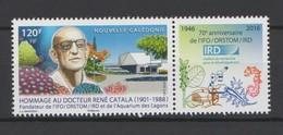 """Nouvelle Calédonie 2016 : """"Docteur René Catala""""  - Neuf ** - - Unused Stamps"""