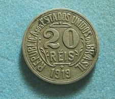 Brazil 20 Reis 1919 - Brasil