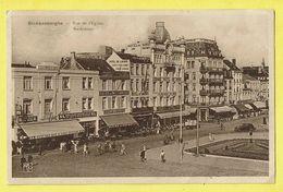 * Blankenberge - Blankenberghe (Kust - Littoral) * (Edition Arfo, Nr 424) Rue De L'église, Kerkstraat, Hotel Du Louvre - Blankenberge