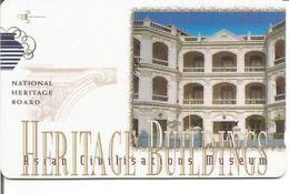 Télécarte De SINGAPOUR - Musée Des Civilisations Asiatiques 10$ - Singapour