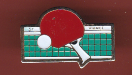 53158-Pin's.tennis De Table.ping Pong.Viance. - Table Tennis