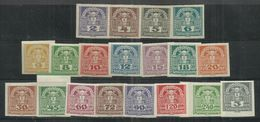 """Österreich 293-311x """"19 Zeitungs-Briefmarken Im Satz Kpl."""" Postfrischest. Mi.:3,00; - Ungebraucht"""