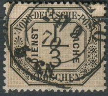 NDP 1/3 Gr Dienstmarken, Michel 2, Gestempelt (1-648) - Conf. De L' All. Du Nord