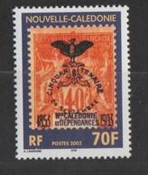 """Nouvelle Calédonie 2003 : N° 889 - """"centenaire Du Premier Cagou Sur Timbre""""   - Neufs ** - - New Caledonia"""