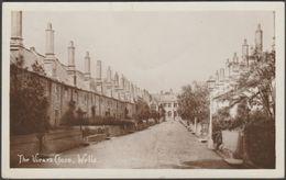 The Vicar's Close, Wells, Somerset, C.1910s - Harvey Barton RP Postcard - Wells