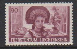 Liechtenstein 1941 Anbauwerk 90Rp 1v Unused Regummed (39551N) - Unused Stamps
