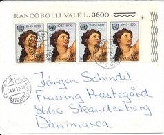 Vatican Cover Sent To Denmark 24-11-1972 - Vatican