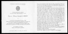 Doodsprentje / Bidprentje / Avis De Décès / Mortuaire / Kloosterzuster / Marie Joseph Libert / Sint-Amandsberg / 1999 - Décès