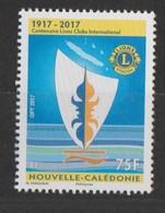 """Nouvelle Calédonie 2017 :  """"Centenaire Du Lions Clubs International""""   - Neuf ** - - Nouvelle-Calédonie"""