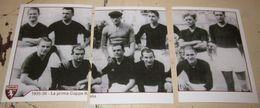 TORINO FC LE FIGURINE ERREDI  2013/14  N. 344-345-346 1935-36 La Prima Coppa Italia - Adesivi