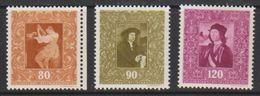 Liechtenstein 1949 Paintings 80, 90Rp + 1.20fr * Mh (= Mint, Hinged) (39552) - Unused Stamps