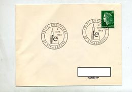 Lettre Cachet Strasbourg Foire 1969 - Gedenkstempels