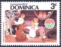 308 Dominica Disney Lapin Rabbit Peter Pan MNH ** Neuf SC (DMN-51b) - Konijnen