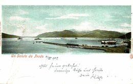 1902  UN SALUTO DA TEODO SEE LEFT SIDE    MONTENEGRO - Montenegro