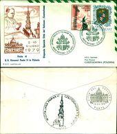 8392A) F.D.C. GIOVANNI PAOLO II IN VISITA IN POLONIA 06-79 - FDC