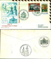 8393A) F.D.C. GIOVANNI PAOLO II IN VISITA IN POLONIA 06-79 - FDC