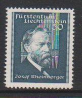 Liechtenstein 1939 Josef Rheinberger 1v * Mh (=mint, Hinged) (39552C) - Unused Stamps