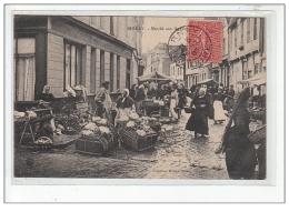 BERNAY - Marché Aux Légumes - Très Bon état - Bernay