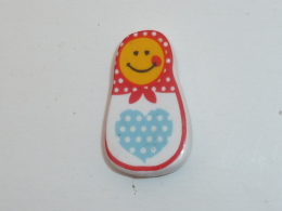 FEVE PETITE POUPEE RUSSE, Feve Plate - Characters