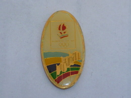 Pin's ALBERTVILLE 92, DRAPEAUX - Olympic Games