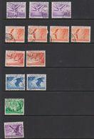 Liechtenstein 1939 Airmail / Flugpost 13v Used (39552D) - Air Post