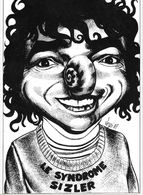 ILLUSTRATEUR ...BERNARD VEYRI..1987...LE SYNDROME SIZLER....150 EXPL..TBE....SCAN - Veyri, Bernard