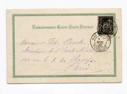 !!! PRIX FIXE : CACHET SALONIQUE - TURQUIE DE 1900 SUR CPA SOUVENIR DE SALONIQUE - Levant (1885-1946)