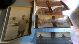 4 Photos D époque Guerre 14=18 Petite Synthe - Photos Stéréoscopiques