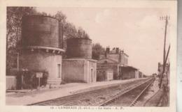 LANGEAIS : La Gare. - Langeais