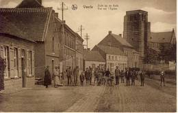 Veerle Laakdal  Zicht Op De Kerk 1930 - Laakdal