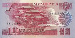 COREE DU NORD 10 WON 1988  UNC  P 37 - Corea Del Norte