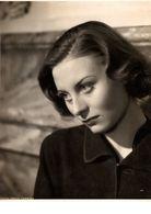 GRANDE  PHOTO   DE   MICHELE   MORGAN - Célébrités