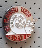 Snail  Polzevo Mountain Camp Slovenia Pin - Animals