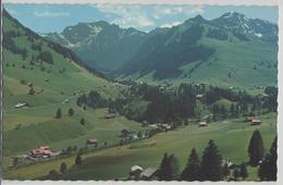 Grimmialp-Schwenden (Diemtigtal) Gsür (Kilei), Arbenhorn, Rauflihorn - Photo: Arthur Baur - BE Berne