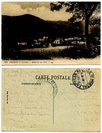 France 1919 Postcard  Luchon - Castillon - Route De Lac D'Oo, U.S. Army APO 937, WWI - Brieven En Documenten