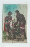 Noêl (Fête) : GP D'une Famille Devant L'Arbre De Noël Avec Jouets En 1929 (animé)PF - Noël
