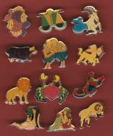 53174-lot De 12 Pin's.zodiaque.signes Astrologiques.astrologie... - Games